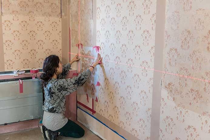 Wall paintings Restoration