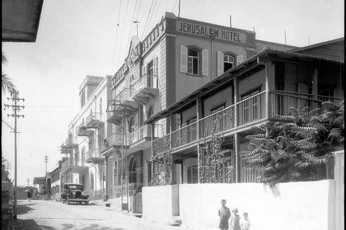 The American-German colony, Auerbach Street 1920