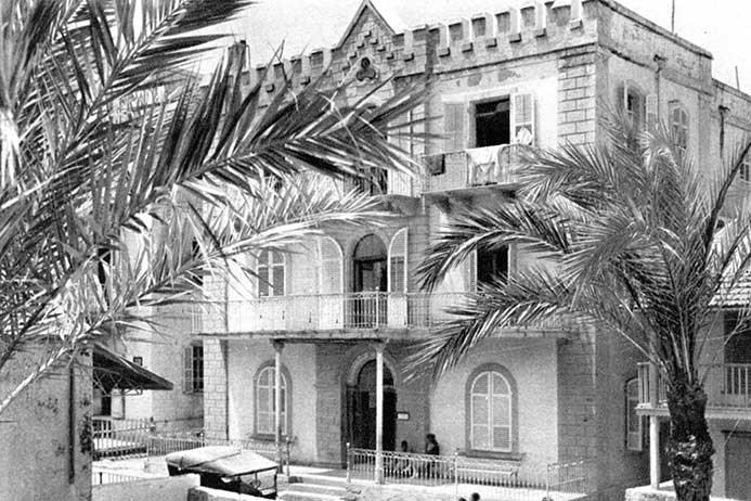 Jaffa 1920-1923 Hotel Jerusalem, Credit: Scholten No 2