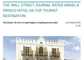 Israel Travel News