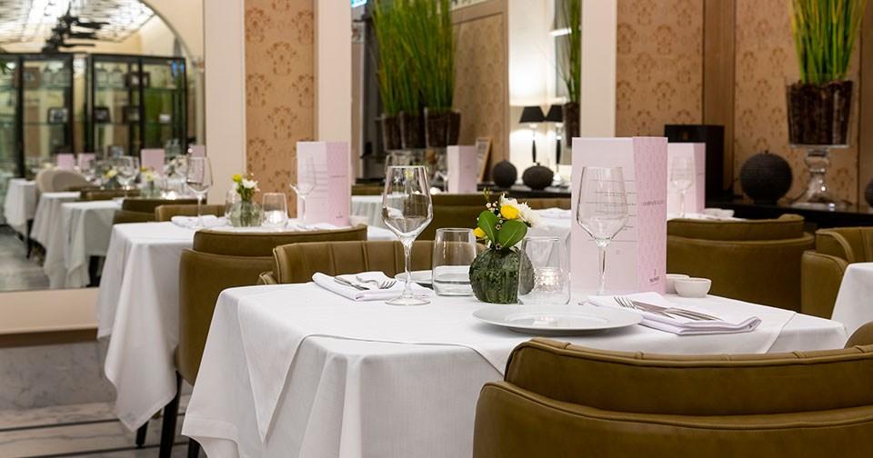 Good food, Elegant surroundings, Good times at George & John Restaurant