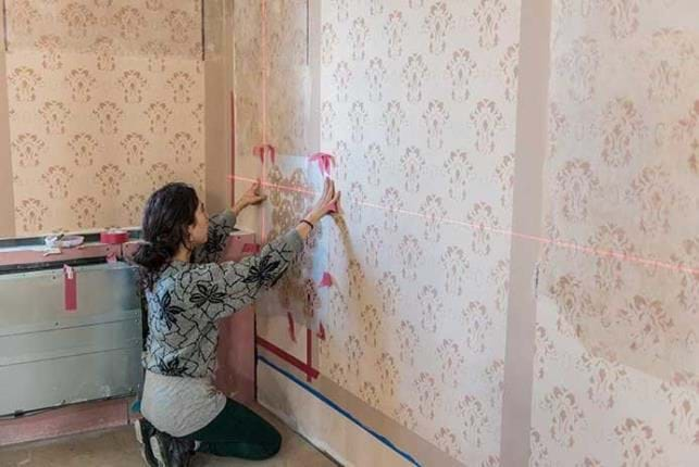 Wall paintings Restoration