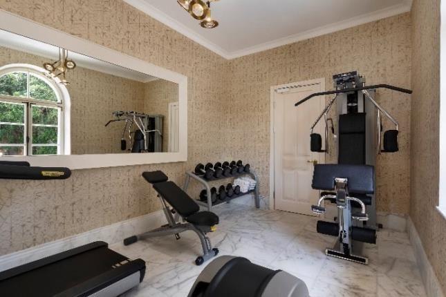 Hotel Drisco - Gym