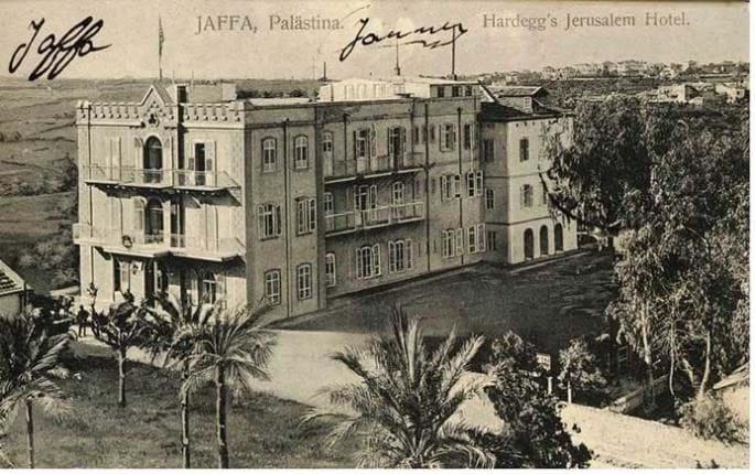 Jaffa, Hotel Hardegg, Credit: Yoel Amir