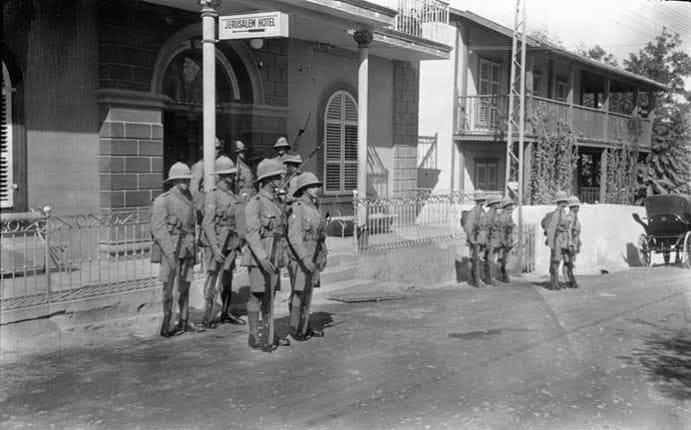 Jerusalem Hotel, Jaffa  1929